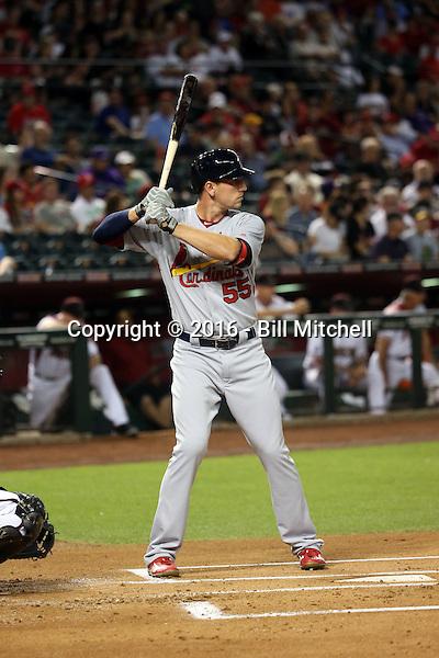 Stephen Piscotty - 2016 St. Louis Cardinals (Bill Mitchell)