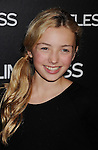 """HOLLYWOOD, CA - MARCH 03: Peyton List attends the Los Angeles special screening of """"Limitless"""" at ArcLight Cinemas Cinerama Dome on March 3, 2011 in Hollywood, California."""