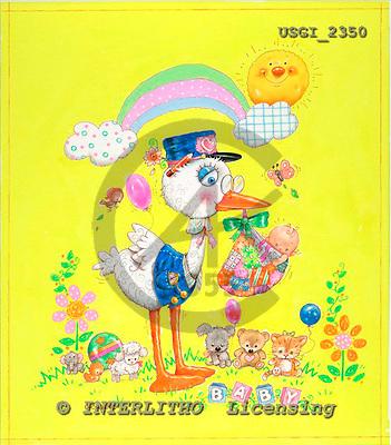 GIORDANO, CHILDREN BOOKS, BIRTHDAY, GEBURTSTAG, CUMPLEAÑOS, humor, paintings+++++,USGI2350,#BI#,#H# ,everyday ,everyday