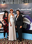 Dara Caffrey (Frilly Frocks), Rebecca Sexton and Ladonna Tallon at the City North Wedding Fair...Picture Jenny Matthews/Newsfile.ie