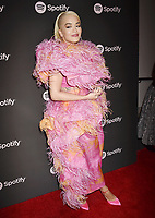 LOS ANGELES, CA - FEBRUARY 07: Rita Ora attends Spotify's Best New Artist Party at the Hammer Museum on February 07, 2019 in Los Angeles, California.<br /> CAP/ROT/TM<br /> ©TM/ROT/Capital Pictures