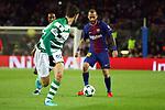UEFA Champions League 2017/2018 - Matchday 6.<br /> FC Barcelona vs Sporting Clube de Portugal: 2-0.<br /> Cristiano Piccini vs Aleix Vidal.