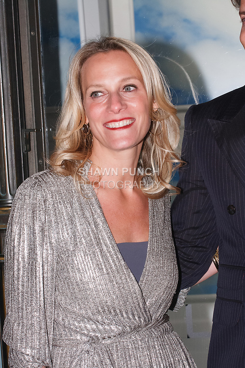 Chief Merchant of Saks Fifth Avenue Tracy Margolies arrives at their Claudia Schiffer for Aquazzura launch event at Saks Fifth Avenue, at 611 Fifth Avenue, in New York City on October 17, 2017.