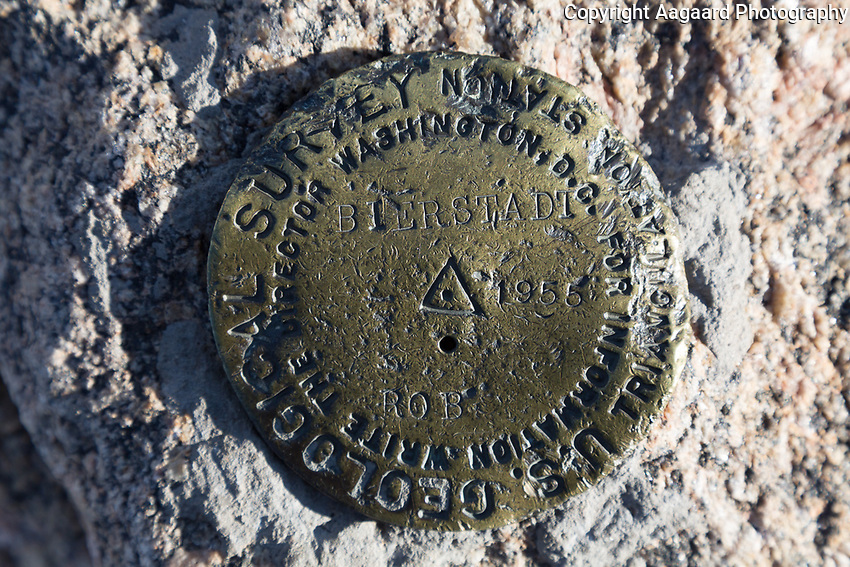 Mt. Bierstadt USGS Marker