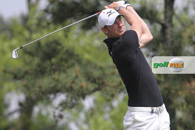 Chris Wood (ENG) on the 17th on Day 3 of the Ballantines Championship 2012 at Blackstone Golf Course, Icheon, Korea...(Photo Jenny Matthews/www.golffile.ie)