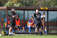 Paul Martin manager of Romford during Romford vs Coggeshall Town, Bostik League Division 1 North Football at Rookery Hill on 13th October 2018