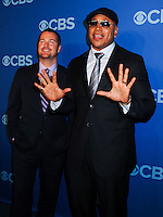 NEW YORK CITY, NY, USA - MAY 14: Chris O'Donnell, LL Cool J at the 2014 CBS Upfront held at Carnegie Hall on May 14, 2014 in New York City, New York, United States. (Photo by Celebrity Monitor)