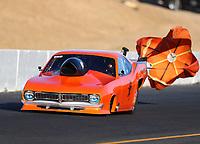 Jul 28, 2017; Sonoma, CA, USA; NHRA top sportsman driver Lynsi Snyder-Ellingson during qualifying for the Sonoma Nationals at Sonoma Raceway. Mandatory Credit: Mark J. Rebilas-USA TODAY Sports