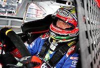 Oct. 30, 2009; Talladega, AL, USA; NASCAR Sprint Cup Series driver Max Papis during practice for the Amp Energy 500 at the Talladega Superspeedway. Mandatory Credit: Mark J. Rebilas-