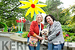 Susan O'Shea and  her dog Gizmo who came 3rd in the small dog category with her friend Helen Merritt at the dog show on Saturday Afternoon in association with Animal Help. Net Kerry  at the Feile na  in the Town park on Saturday