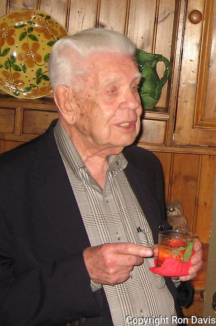 Walter Puliam - WW II veteran, journalist with Stars & Stripes, newspaper owner - Monteagle, TN