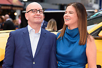 Director Steven Soderburgh &amp; wife Jules Asner at the premiere of &quot;Logan Lucky&quot; at the VUE West End Cinema, London, UK. <br /> 21 August  2017<br /> Picture: Steve Vas/Featureflash/SilverHub 0208 004 5359 sales@silverhubmedia.com
