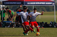 LAKEWOOD RANCH, FL: 2017 Development Academy Winter Showcase & Nike International Friendlies at Premier Sports Campus in Lakewood Ranch, Fla., on December 4, 2017. (Photo by Casey Brooke Lawson)