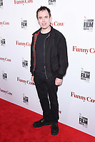 Kevin Eldon<br /> arriving for the London Film Festival 2017 screening of &quot;Funny Cow&quot; at the Vue West End, Leicester Square, London<br /> <br /> <br /> &copy;Ash Knotek  D3327  09/10/2017