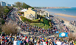 The peleton in action during Stage 3 of the Tour de Yorkshire 2018 running 181km from Richmond to Scarborough, England. 5th May 2018.<br /> Picture: ASO/Alex Broadway | Cyclefile<br /> <br /> <br /> All photos usage must carry mandatory copyright credit (&copy; Cyclefile | ASO/Alex Broadway)