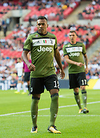 Juventus Alex Sandro Lobo Silva during the pre season friendly match between Tottenham Hotspur and Juventus at White Hart Lane, London, England on 5 August 2017. Photo by Andrew Aleksiejczuk / PRiME Media Images.