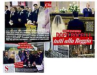Napoli 5 gennaio 2018<br /> <br /> Matrimonio &quot;faraonico&quot; nella chiesa di San Francesco di Paola, chiusa per l'occasione al pubblico e per consentire Angela e Francesco a convolare a nozze, con l'Ave Maria cantata da Andrea Bocelli e tanti ospiti d'eccezione, tra cui il calciatore Luca Toni.