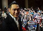 "Jon M. Chu, May 27, 2013 : Tokyo, Japan : Director Jon M. Chu attends the Japan premiere for the film ""G.I.Joe:Retaliation"" in Tokyo, Japan, on May 27, 2013. The film will open on June 7 in Japan. (Photo by Keizo Mori/AFLO)"