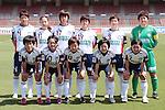 Okayama Yunogo Belle team group line-up, <br /> MAY 4, 2014 - Football /Soccer : <br /> Plenus Nadeshiko League 2014 <br /> between Urawa Reds Ladies 1-3 Okayama Yunogo Belle <br /> at Saitama Urawa Komaba Stadium, Saitama, Japan. <br /> (Photo by AFLO SPORT) [1205]