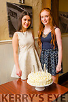 Friends Nela Budayova and Sarah Buckley from Tralee celebrating their 16th Birthday on Friday at the Ashe Hotel