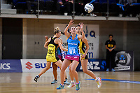 Steel's Gina Crampton in action during the ANZ Premiership - Pulse v Steel at Te Rauparaha Arena, Porirua, New Zealand on Wednesday 30 May 2018.<br /> Photo by Masanori Udagawa. <br /> www.photowellington.photoshelter.com