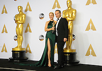 28 February 2016 - Hollywood, California - Rachel McAdams, Emmanuel Lubezki. 88th Annual Academy Awards presented by the Academy of Motion Picture Arts and Sciences held at Hollywood & Highland Center. Photo Credit: Byron Purvis/AdMedia