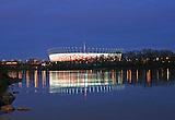 EM Stadion in Warschau /  EM Stadion in Warsaw