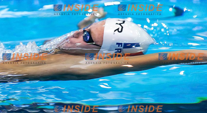 GARASYMOVYTCH Oleg FRA<br />Men's 200m backstroke heats<br />Netanya, Israel, Wingate Institute<br />LEN European Short Course Swimming Championships  Dec. 2 - 6, 2015 Day01 Dec. 2nd<br />Nuoto Campionati Europei di nuoto in vasca corta<br />Photo Giorgio Perottino/Deepbluemedia/Insidefoto