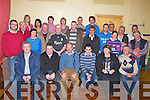 PLAN: Members of  Crotta GAA Club met up at Kilflynn School, on Friday night to discuss the Crotta 5year plan...