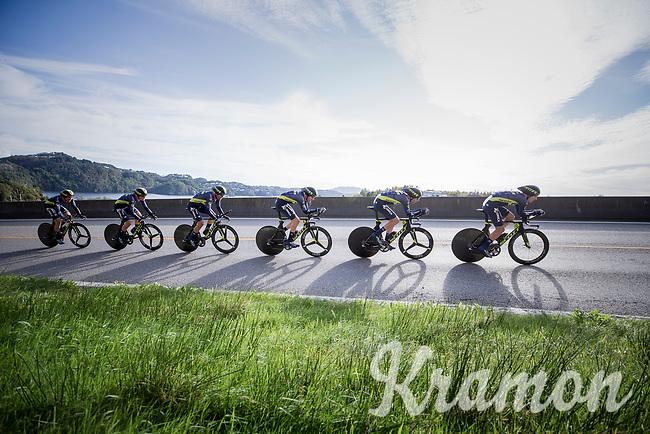 Team Orica-Scott<br /> <br /> Men's Team Time Trial<br /> <br /> UCI 2017 Road World Championships - Bergen/Norway