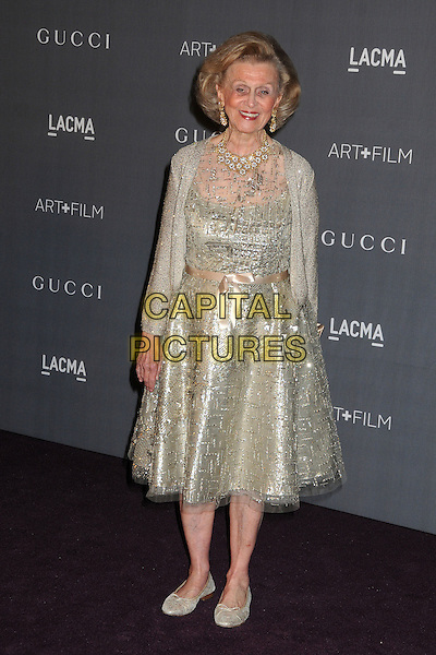 Barbara Davis.LACMA 2012 Art + Film Gala held at LACMA, Los Angeles, California, USA..October 27th, 2012.full length silver gold dress .CAP/ADM/BP.©Byron Purvis/AdMedia/Capital Pictures.