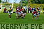 Darragh Corridan Kilmoyley drives forward  during their Feile quarter final in Currans on Saturday