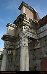 Peristyle Forum of Nerva Transitory Forum Domitian 97 AD Frieze Myth of Arachne Rome
