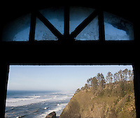 The view north from North Head Lighthouse on the  Long Beach peninusla in Washington State Saturday Feb. 7, 2009.