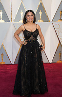 www.acepixs.com<br /> <br /> February 26 2017, Hollywood CA<br /> <br /> Salma Hayek arriving at the 89th Annual Academy Awards at Hollywood &amp; Highland Center on February 26, 2017 in Hollywood, California.<br /> <br /> By Line: Z17/ACE Pictures<br /> <br /> <br /> ACE Pictures Inc<br /> Tel: 6467670430<br /> Email: info@acepixs.com<br /> www.acepixs.com