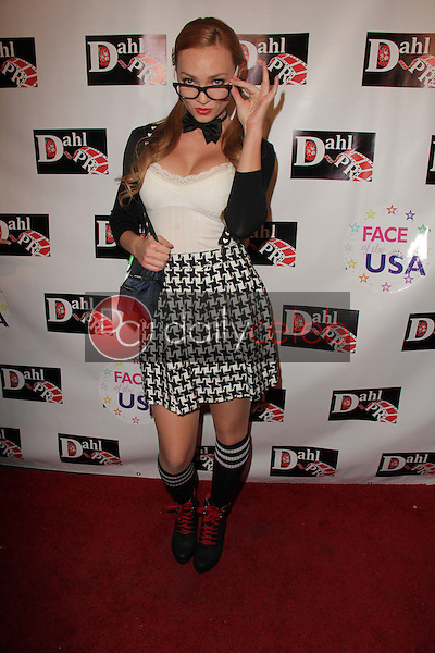 Jenny Allford<br /> at the Monster Man Costume Ball, Cabo Wabo, Hollywood, CA 10-16-13<br /> David Edwards/Dailyceleb.com 818-249-4998