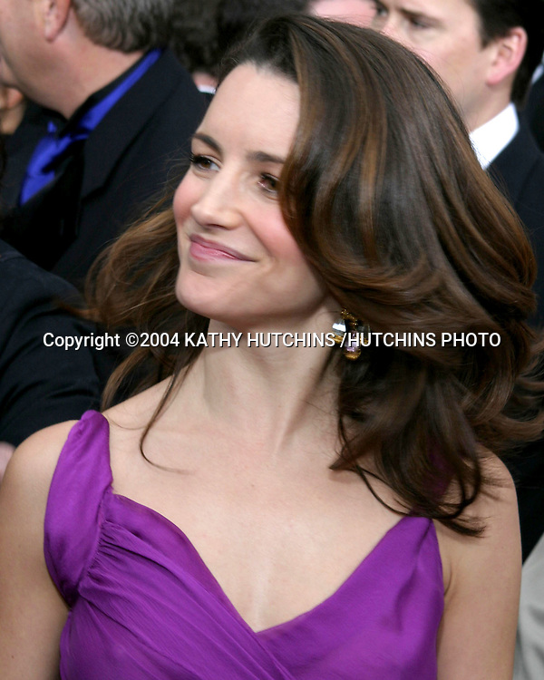 ©2004 KATHY HUTCHINS /HUTCHINS PHOTO.10TH ANNUAL SCREEN ACTORS GUILD AWARDS.SHRINE AUDITORIUM.LOS ANGELES, CA.FEBRUARY 22, 2004..KRISTEN DAVIS