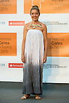 Maria Pujalte poses for the photographers during 2015 Theater Ceres Awards photocall at Merida, Spain, August 27, 2015. <br /> (ALTERPHOTOS/BorjaB.Hojas)