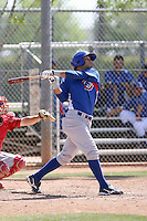 Marwin Gonzalez, Chicago Cubs 2010 minor league spring training..Photo by:  Bill Mitchell/Four Seam Images.
