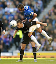 01/10/2005         Copyright Pic : James Stewart.File Name : sct_jspa26 rangers v dunfermline.FERNANDO RICKSEN GETS ABOVE NOEL HUNT....Payments to :.James Stewart Photo Agency 19 Carronlea Drive, Falkirk. FK2 8DN      Vat Reg No. 607 6932 25.Office     : +44 (0)1324 570906     .Mobile   : +44 (0)7721 416997.Fax         : +44 (0)1324 570906.E-mail  :  jim@jspa.co.uk.If you require further information then contact Jim Stewart on any of the numbers above.........