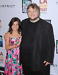 Guillermo del Toro, Bailee Madison at FilmDistrict L.a. Premiere of Don't Be Afraid of the Dark held at The Regal Cinemas L.A. Live Stadium 14 in Los Angeles, California on June 26,2011                                                                               © 2011 Hollywood Press Agency