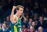S&ouml;dert&auml;lje 2015-10-01 Basket Basketligan S&ouml;dert&auml;lje Kings - Uppsala Basket :  <br /> S&ouml;dert&auml;lje Kings Skyler Bowlin firar po&auml;ng under matchen mellan S&ouml;dert&auml;lje Kings och Uppsala Basket <br /> (Foto: Kenta J&ouml;nsson) Nyckelord:  Basket Basketligan S&ouml;dert&auml;lje Kings SBBK T&auml;ljehallen Uppsala Seriepremi&auml;r Premi&auml;r jubel gl&auml;dje lycka glad happy portr&auml;tt portrait