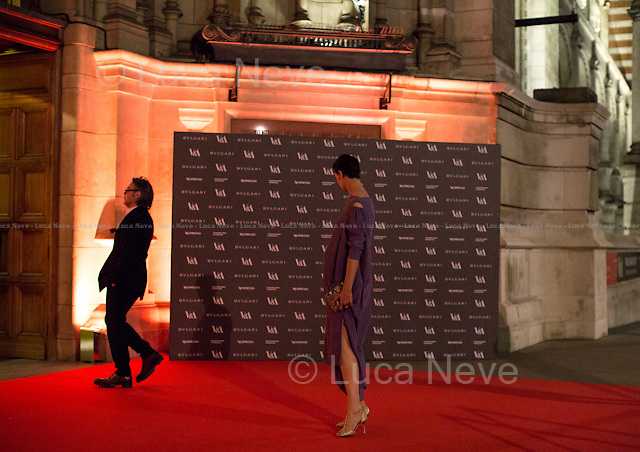Erin O'Connor (British model).<br />