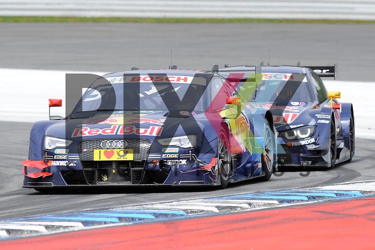 # 5 Mattias Ekstroem auf Audi RS5 DTM Audi Sport vom Team Abt Sportsline in der Spitzkehre beim Rennen der DTM auf dem Hockenheimring.<br /> <br /> Foto &copy; P-I-X.org *** Foto ist honorarpflichtig! *** Auf Anfrage in hoeherer Qualitaet/Aufloesung. Belegexemplar erbeten. Veroeffentlichung ausschliesslich fuer journalistisch-publizistische Zwecke. For editorial use only.