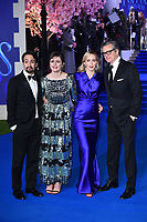 "LONDON, UK. December 12, 2018: Lin-Manuel Miranda, Emily Mortimer, Emily Blunt & Colin Firth at the UK premiere of ""Mary Poppins Returns"" at the Royal Albert Hall, London.<br /> Picture: Steve Vas/Featureflash"
