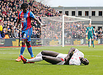 Crystal Palace's Pape Sobre apologises after catching Liverpool's Mamadou Sakho<br /> <br /> - English Premier League - Crystal Palace vs Liverpool  - Selhurst Park - London - England - 6th March 2016 - Pic David Klein/Sportimage