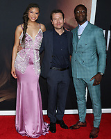 """LOS ANGELES - FEB 24:  Storm Reid, Leigh Whannell, Aldis Hodge at the """"The Invisible Man"""" Premiere at the TCL Chinese Theater IMAX on February 24, 2020 in Los Angeles, CA"""