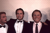 Kirk Douglas &amp; Sons Michael Douglas &amp; <br /> Eric Douglas 1987 By Jonathan Green