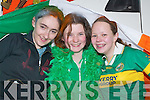 FUN: Rebecca Nolan, Brid Linehan and Melanie Cremins having fun on Saturday at the Castleisland St Patricks Day Parade. .
