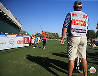 Joost Luiten (NED) drives the 17th during the Final Round of the 2016 Omega Dubai Desert Classic, played on the Emirates Golf Club, Dubai, United Arab Emirates.  07/02/2016. Picture: Golffile | David Lloyd<br /> <br /> All photos usage must carry mandatory copyright credit (&copy; Golffile | David Lloyd)